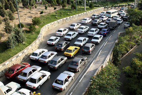 آخرین وضعیت جاده چالوس در تعطیلات پیش رو