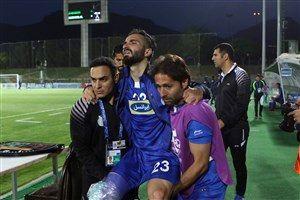 مصدومان استقلال در تهران