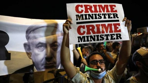 دستگیری شش نفر در جریان تظاهرات علیه نتانیاهو
