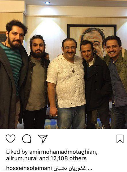 مهمانی مهران غفوریان در خانه اش+عکس