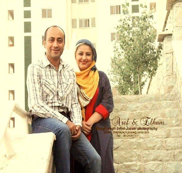 مرحوم عارف لرستانی و همسرش+عکس