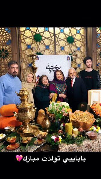 بهنوش بختیاری و خانواده اش + عکس