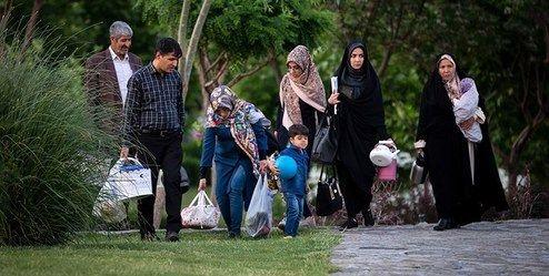 بوستانهای تهران به روی مردم باز شد