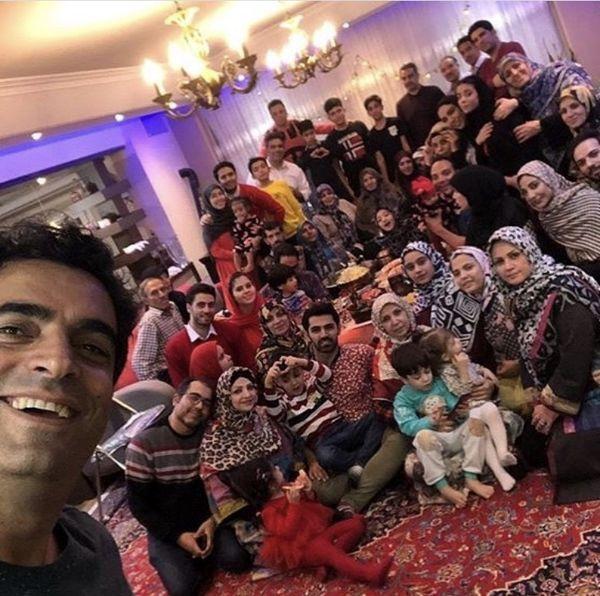 سلفی خانوادگی همسر یکتا ناصر /عکس