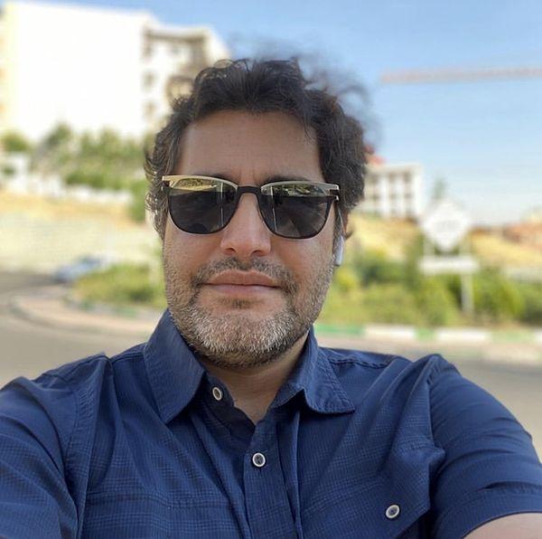سلفی بازیگر مشهور در یک روز آفتابی + عکس