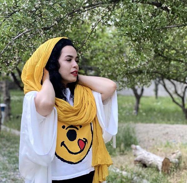 لباس کارتونی ملیکا شریفی نیا + عکس