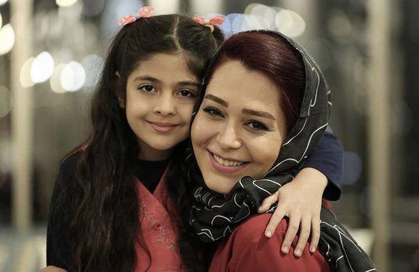 حس مادرانه سانیا سالاری + عکس