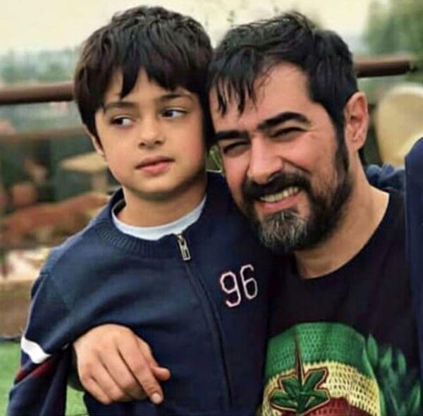 شهاب حسینی و پسر کوچکش + عکس