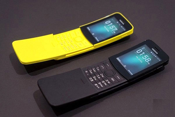 نوکیا گوشی تلفن همراه موزی شکل تولید کرد