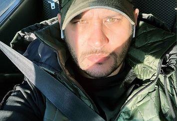 تیپ ارتشی آقای بازیگر خوش استایل+عکس