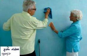 چطور لکه های مختلف را از روی دیوار پاک کنیم؟