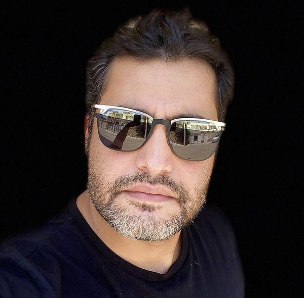 عینک خاص آقای بازیگر + عکس
