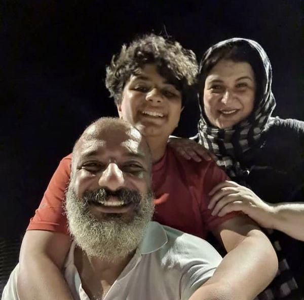 سلفی خانوادگی امیر جعفری + عکس