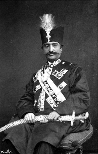 فرزند ارشد ناصرالدین شاه قاجار +عکس