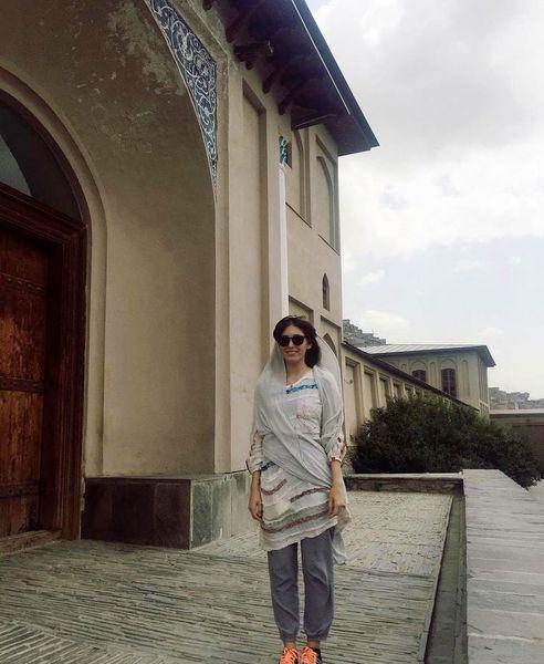 فرشته حسینی در کابل + عکس
