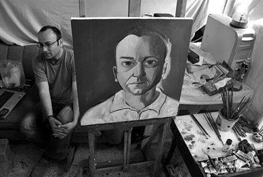 هنرمند نقاش مشهور درگذشت + عکس