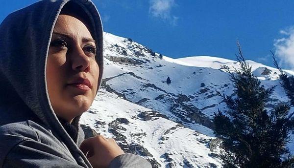 مریم وطن پور در آخرین نماهای زمستانی/عکس