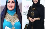 تنوع پوشش خانم مجری در جشن حافظ+عکس