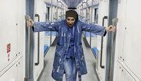 عصبانیت بهاره افشاری در متروی تهران + عک