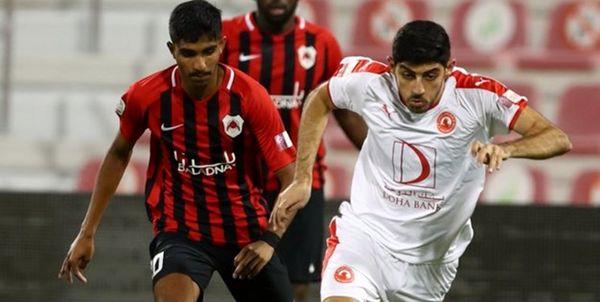 بازیکن ایرانی در ترکیب العربی مقابل السیلیه