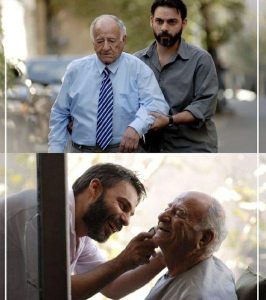 بازیگر جدایی نادر از سیمین در گذشت + عکس