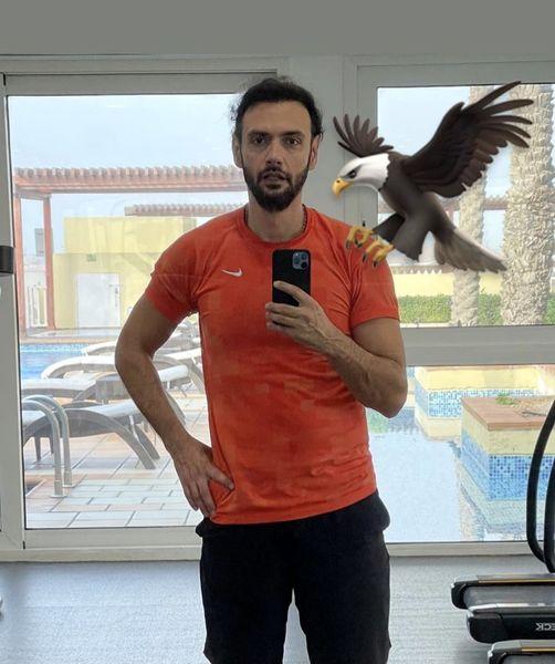 امیرعلی دانایی در باشگاه + عکس