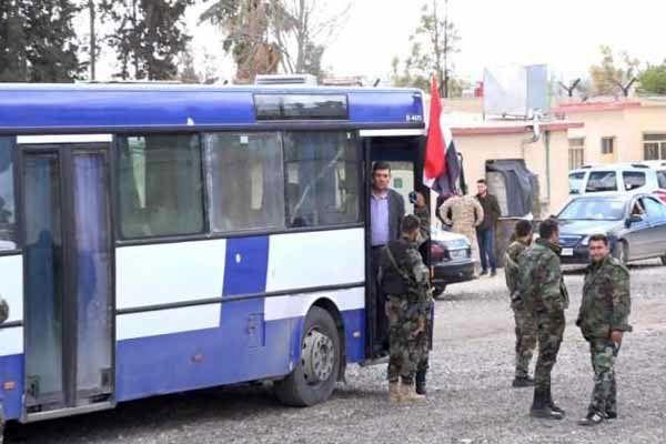 نبرد سنگین با داعش در جنوب دمشق