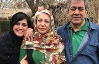 گردش باران کوثری با مادر و پدر معروفش+عکس