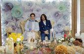 عکس مراسم عقد زوج جنجالی ماه عسل