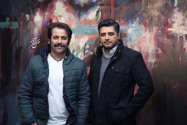 رفاقت صمیمانه پندار اکبری با بازیگر مشهور + عکس