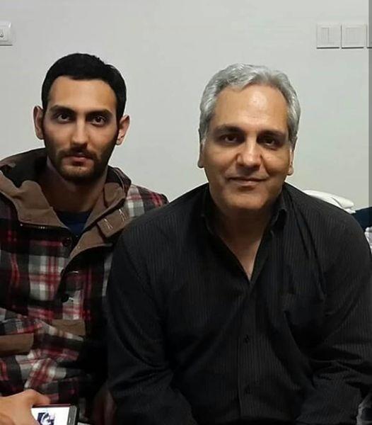 مهران مدیری در کنار پسر خواننده اش + عکس