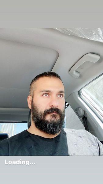 میلاد کیمرام در ماشین شخصی اش + عکس