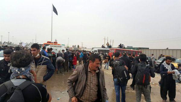 علت ازدحام زائرین در پایانه مهران