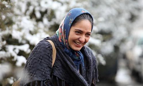 شادی بازیگر زن مشهور در خیابانهای تهران+تصاویر