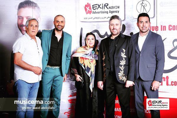 شهره سلطانی و مجید مظفری در کنسرت آقایان خواننده+عکس