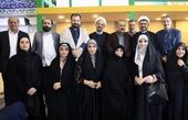 مژده لواسانی در محفلی که دختر امام خمینی(ره) حضور داشت+عکس