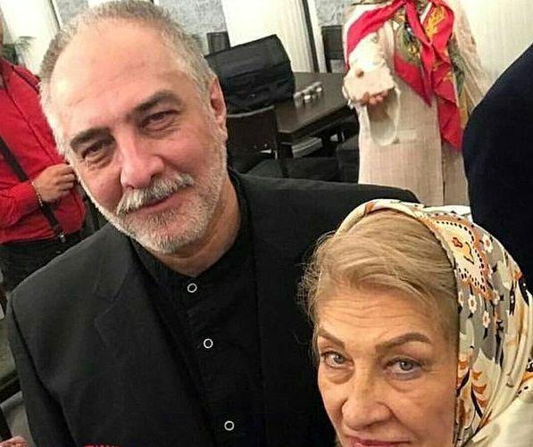 شباهت ایرج نوذری به مادرش+عکس