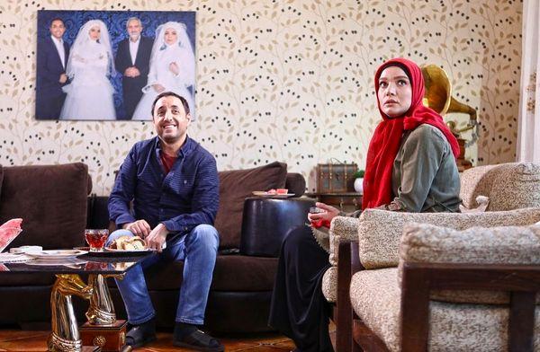 متین ستوده با عکس خاص عروسیش