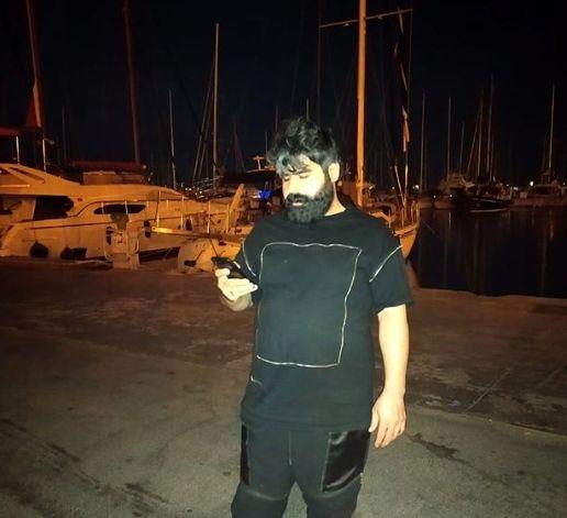 امیر نوری در خلیج یونان+عکس