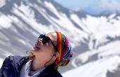 صعود آنا نعمتی به قله های دست نیافته + عکس