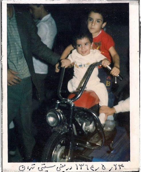 کودکی های زانیار و سیروان خسروی + عکس