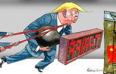 ترامپ به جان روابط امریکا و چین افتاده است
