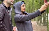 عکاسی حدیثه تهرانی و همسرش در دل جنگل های شمال + عکس
