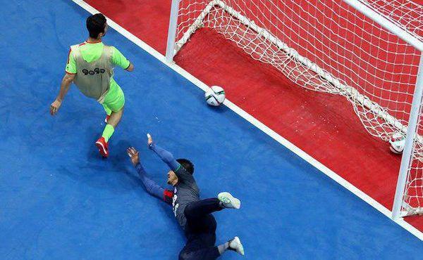 شکست تیم ملی فوتسال زیر ۲۰ سال ایران مقابل روسیه