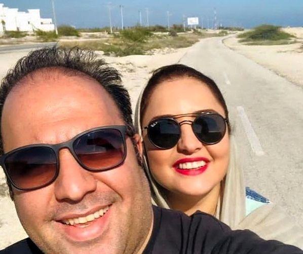سفر تفریحی ستایش و همسرش+عکس