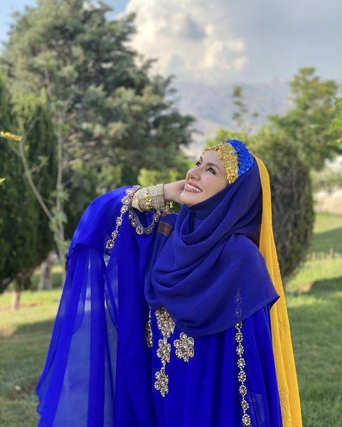 لباس شاد خاله شادونه + عکس