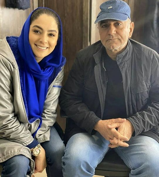 پرویز پرستویی و مارال بنی آدم در کنار هم + عکس
