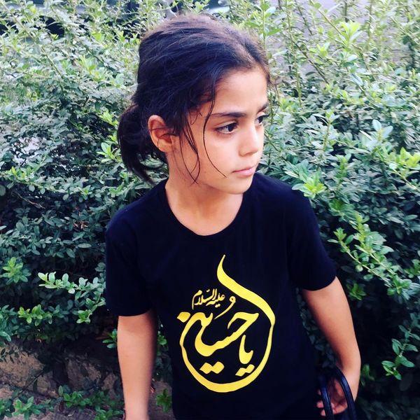 دختر خانم بازیگر سیاه پوش شد+عکس