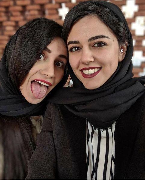 دوست جوان خانم بازیگر + عکس