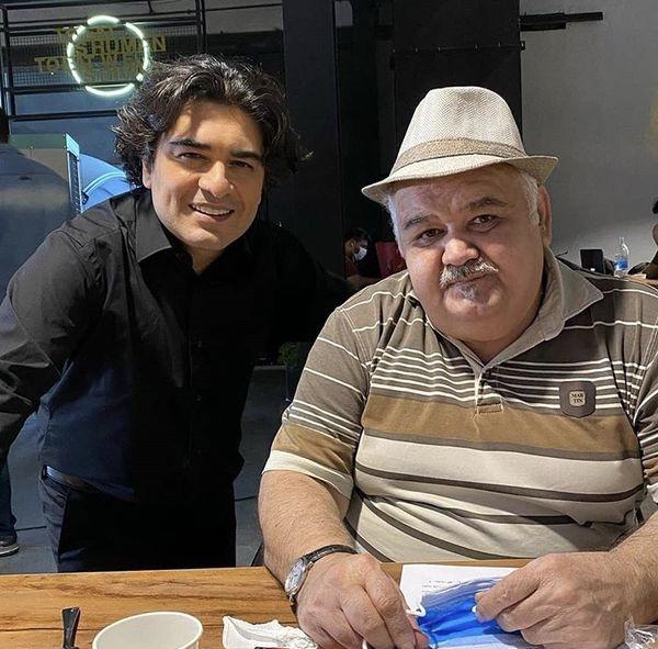 اکبر عبدی و سامان احتشامی در کنار هم + عکس